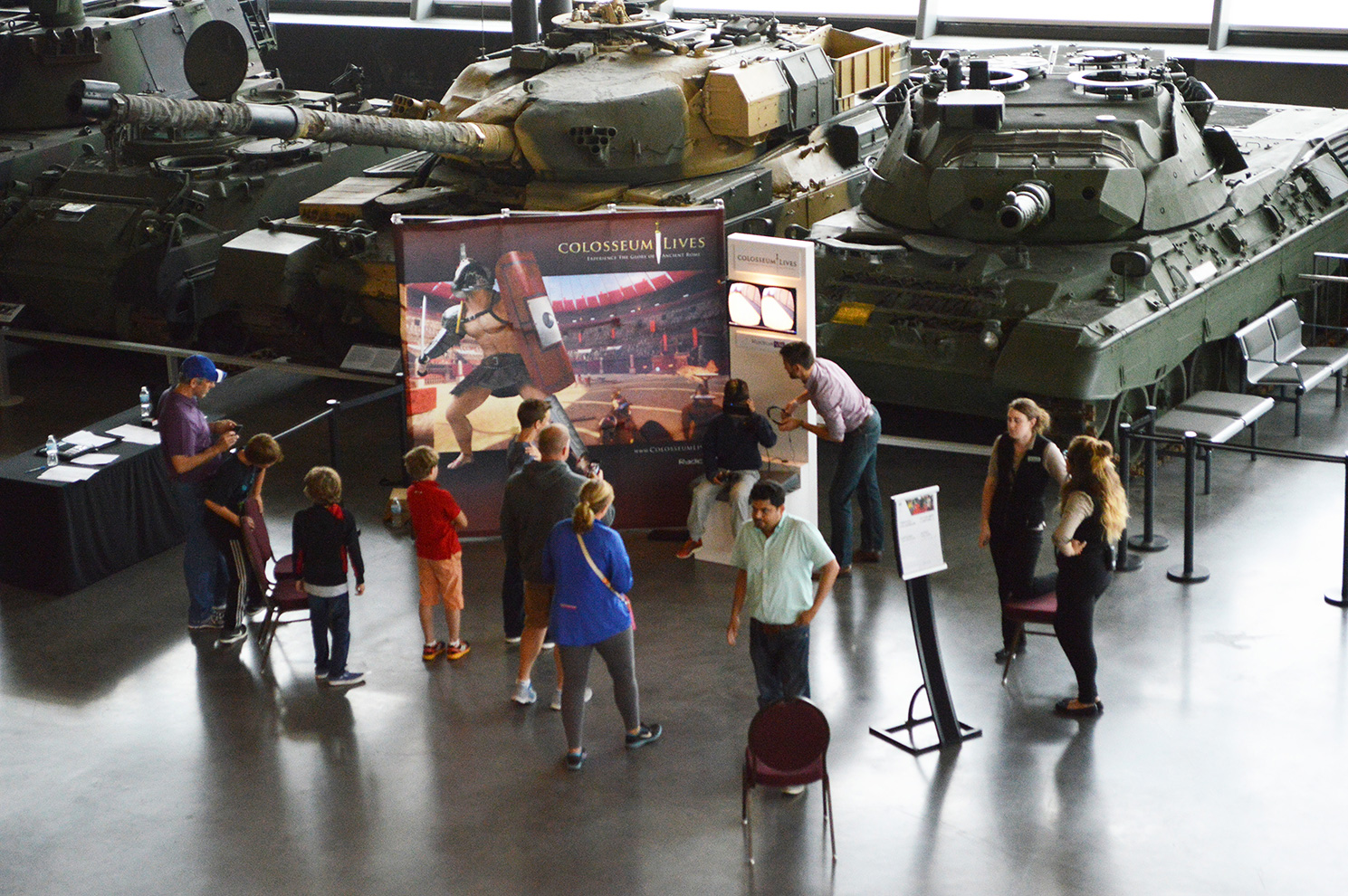 Going public at the Canadian War Museum