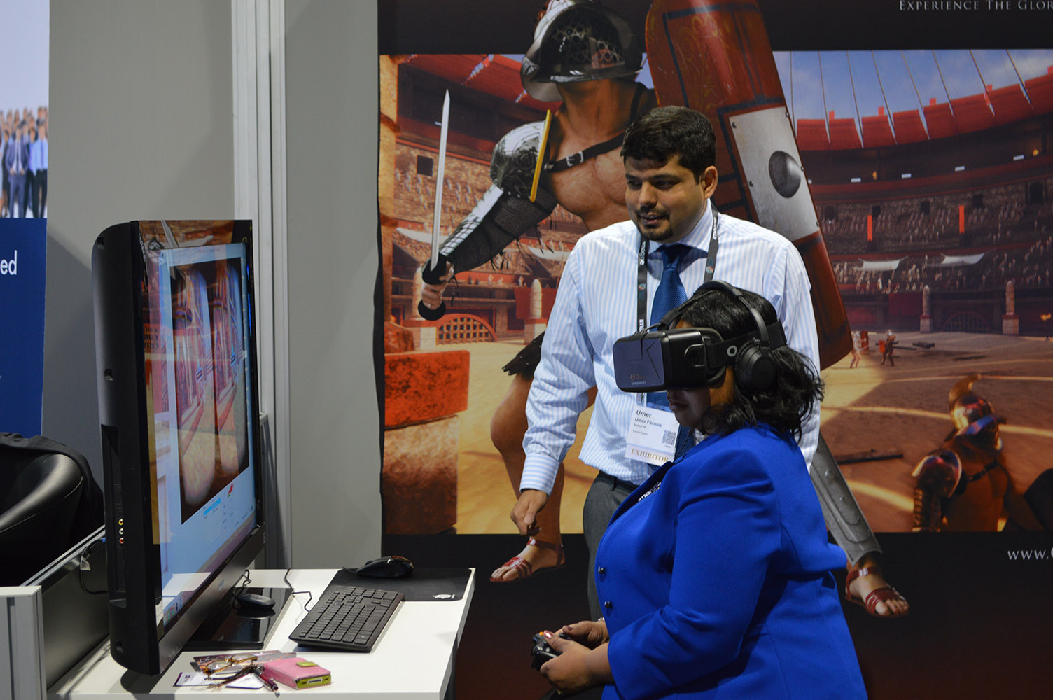 Colosseum Lives debuts at the AAM Expo 2015 in Atlanta