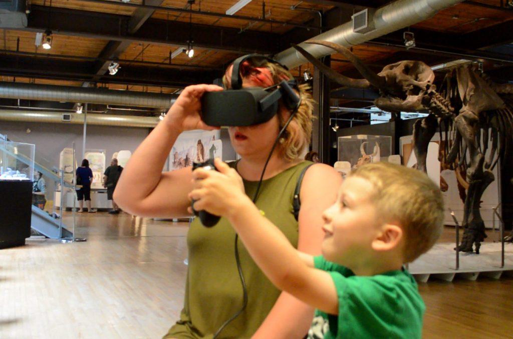 visitor VR
